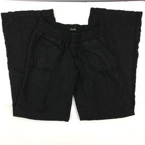 Lucky Brand 100% Linen Wide Leg Pants Beach